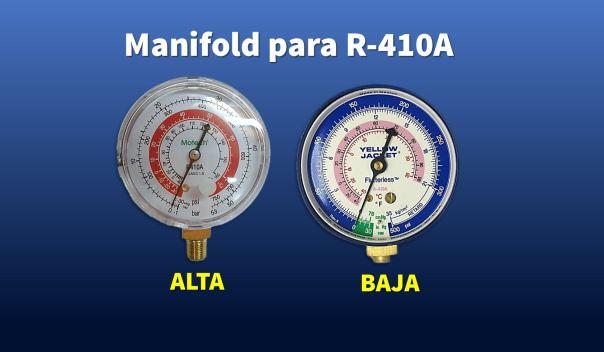 Genetron Quimobasicos Manifold R410A