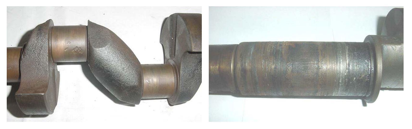 Compresores 2 - 5 Cigüeñales quemado y rayado