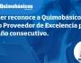 Carrier reconoce a Quimobásicos como Proveedor de Excelencia por 5to añoconsecutivo
