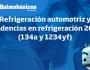 Refrigeración automotriz y tendencias en refrigeración 2016 (134a y1234yf)