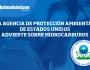 LA AGENCIA DE PROTECCIÓN AMBIENTAL DE ESTADOS UNIDOS ADVIERTE SOBREHIDROCARBUROS