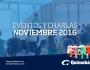 Eventos y Pláticas de Noviembre2016
