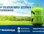 Limpieza ecológica correctamente con Quimobásicos Eco®Flush 1233zdpresurizado